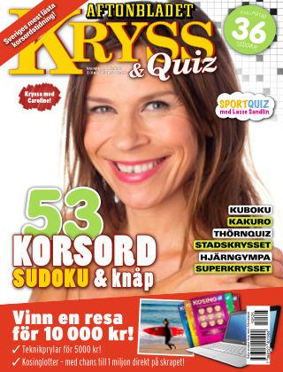 Kryss & Quiz (Inga nya utgåvor) 2015-05-25