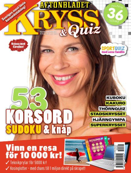 Kryss & Quiz (Inga nya utgåvor) May 25, 2015 00:00