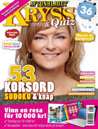 Kryss & Quiz (Inga nya utgåvor) 2015-06-01