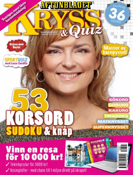 Kryss & Quiz (Inga nya utgåvor) June 01, 2015 00:00