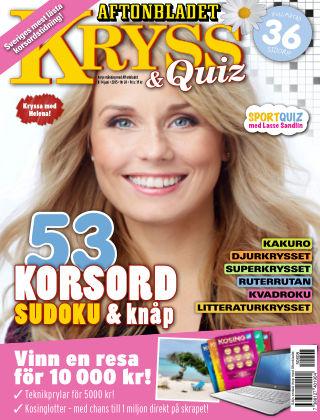 Kryss & Quiz (Inga nya utgåvor) 2015-06-08