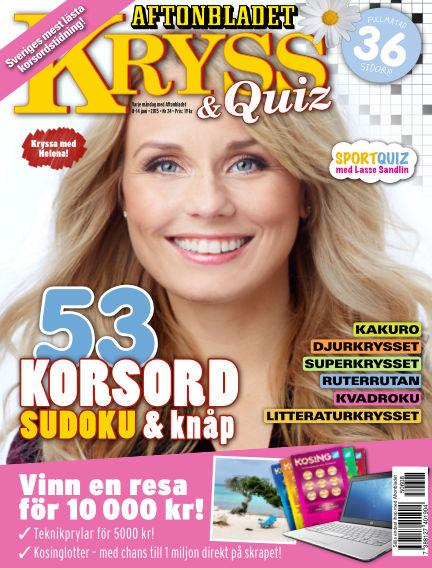 Kryss & Quiz (Inga nya utgåvor) June 08, 2015 00:00
