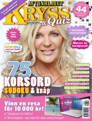 Kryss & Quiz (Inga nya utgåvor) 2015-06-22