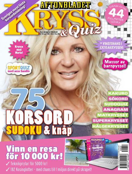 Kryss & Quiz (Inga nya utgåvor) June 22, 2015 00:00