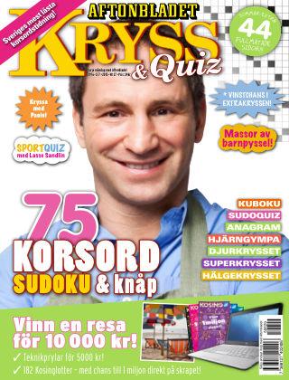 Kryss & Quiz (Inga nya utgåvor) 2015-06-29