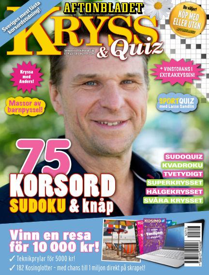 Kryss & Quiz (Inga nya utgåvor) July 13, 2015 00:00