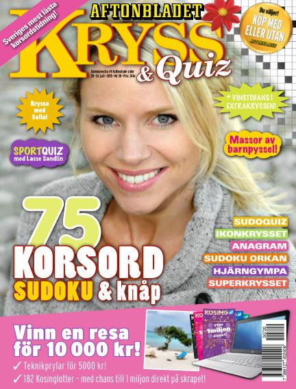 Kryss & Quiz (Inga nya utgåvor) July 20, 2015 00:00