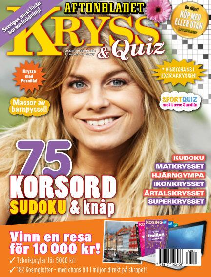 Kryss & Quiz (Inga nya utgåvor) August 03, 2015 00:00