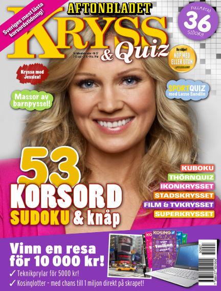 Kryss & Quiz (Inga nya utgåvor) September 07, 2015 00:00