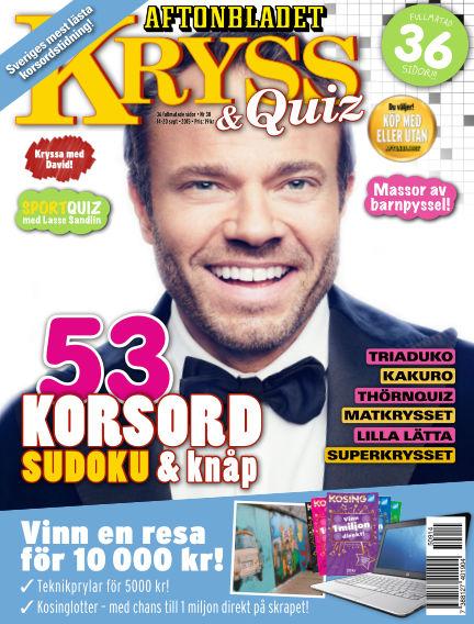 Kryss & Quiz (Inga nya utgåvor) September 14, 2015 00:00