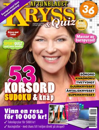 Kryss & Quiz (Inga nya utgåvor) 2015-09-21