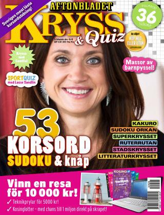Kryss & Quiz (Inga nya utgåvor) 2015-09-28