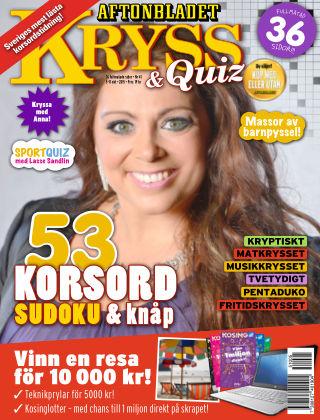 Kryss & Quiz (Inga nya utgåvor) 2015-10-05