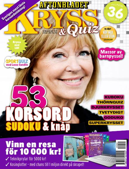 Kryss & Quiz (Inga nya utgåvor) October 12, 2015 00:00
