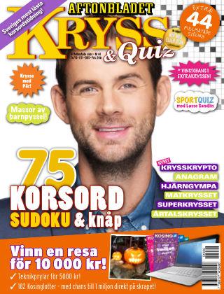 Kryss & Quiz (Inga nya utgåvor) 2015-10-26