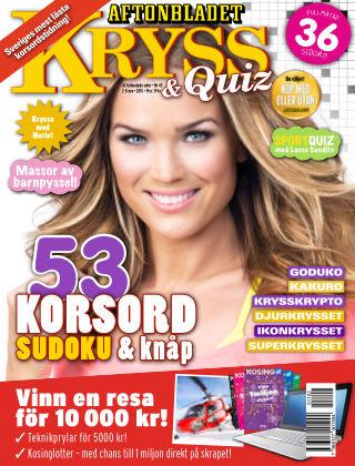 Kryss & Quiz (Inga nya utgåvor) 2015-11-02