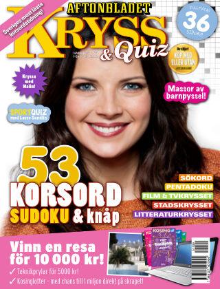 Kryss & Quiz (Inga nya utgåvor) 2015-11-09