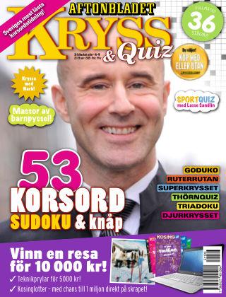 Kryss & Quiz (Inga nya utgåvor) 2015-11-23