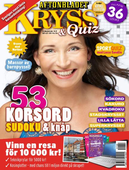 Kryss & Quiz (Inga nya utgåvor) November 30, 2015 00:00