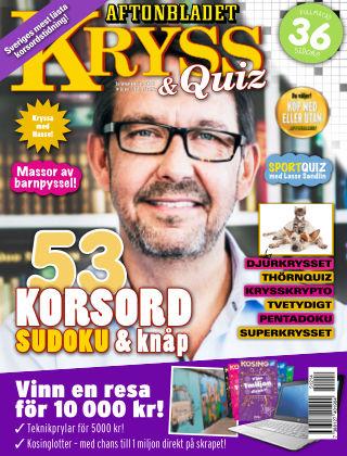Kryss & Quiz (Inga nya utgåvor) 2015-12-14