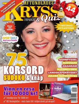 Kryss & Quiz (Inga nya utgåvor) 2015-12-21