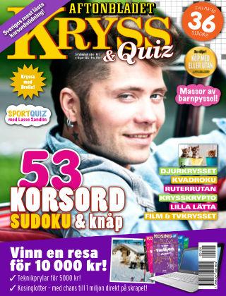 Kryss & Quiz (Inga nya utgåvor) 2016-01-04