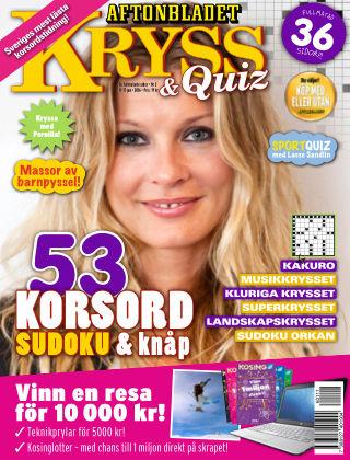 Kryss & Quiz (Inga nya utgåvor) 2016-01-11