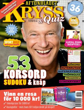 Kryss & Quiz (Inga nya utgåvor) 2016-02-01