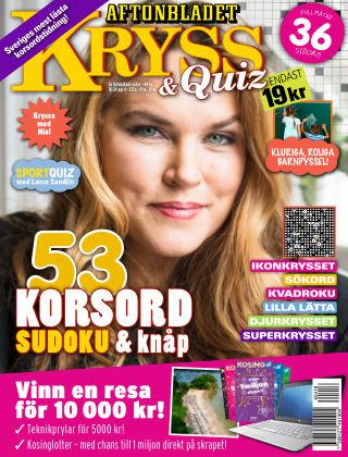 Kryss & Quiz (Inga nya utgåvor) 2016-04-18