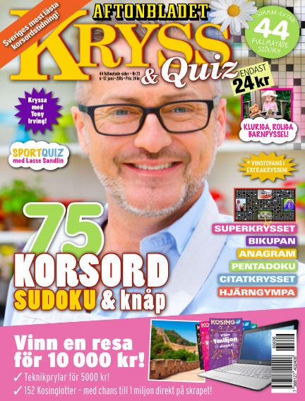 Kryss & Quiz (Inga nya utgåvor) June 06, 2016 00:00