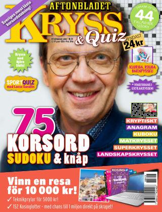 Kryss & Quiz (Inga nya utgåvor) 2016-06-13