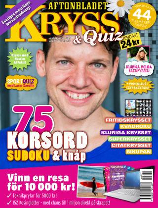 Kryss & Quiz (Inga nya utgåvor) 2016-06-27