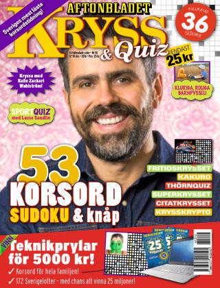 Kryss & Quiz (Inga nya utgåvor) 2016-12-12
