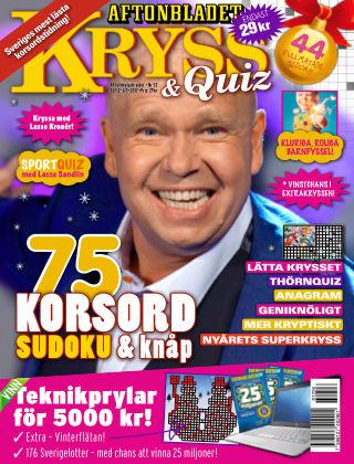 Kryss & Quiz (Inga nya utgåvor) 2016-12-26