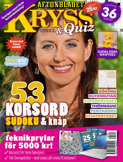 Kryss & Quiz (Inga nya utgåvor) January 02, 2017 00:00
