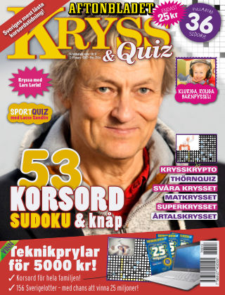 Kryss & Quiz (Inga nya utgåvor) 2017-03-13