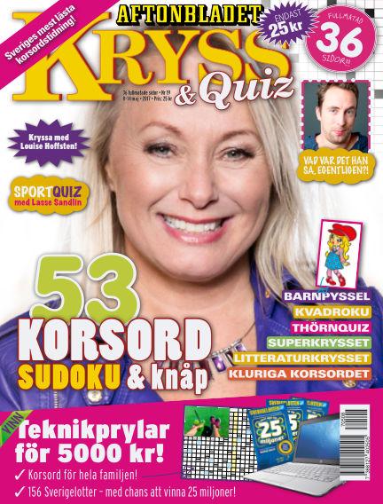 Kryss & Quiz (Inga nya utgåvor) May 08, 2017 00:00