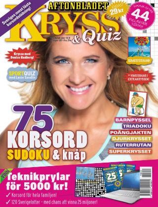 Kryss & Quiz (Inga nya utgåvor) 2017-06-12