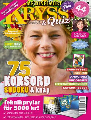 Kryss & Quiz (Inga nya utgåvor) 2017-06-21