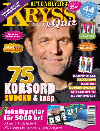 Kryss & Quiz (Inga nya utgåvor) 2017-07-03