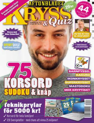 Kryss & Quiz (Inga nya utgåvor) 2017-07-10