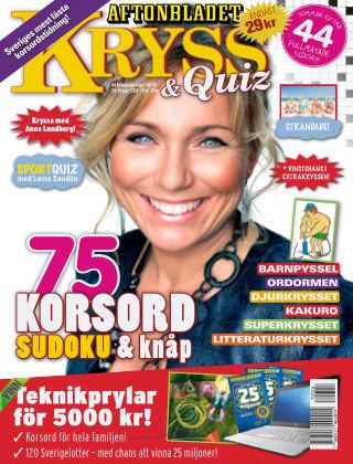 Kryss & Quiz (Inga nya utgåvor) 2017-07-24