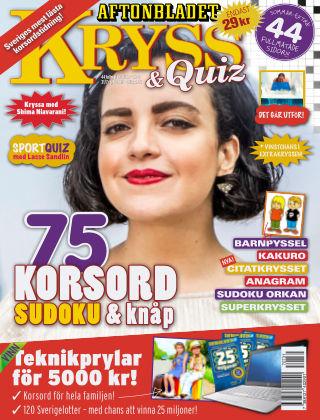 Kryss & Quiz (Inga nya utgåvor) 2017-07-31