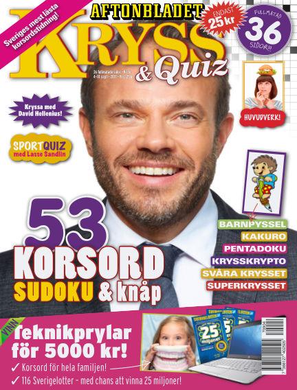 Kryss & Quiz (Inga nya utgåvor) September 04, 2017 00:00