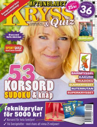 Kryss & Quiz (Inga nya utgåvor) 2017-09-25
