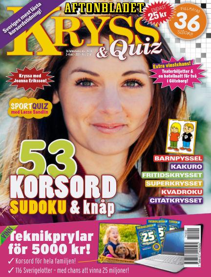 Kryss & Quiz (Inga nya utgåvor) October 02, 2017 00:00