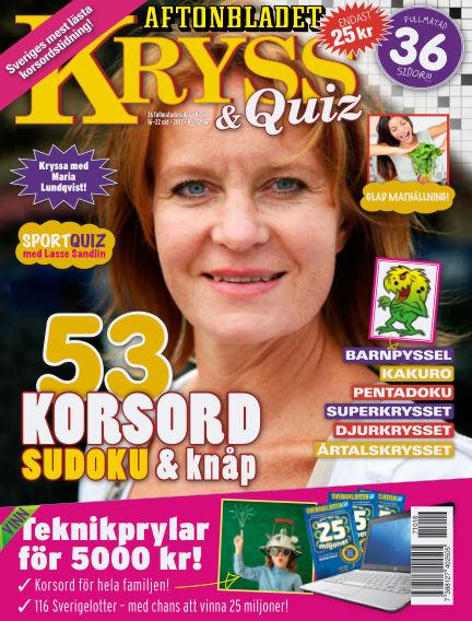 Kryss & Quiz (Inga nya utgåvor) October 16, 2017 00:00