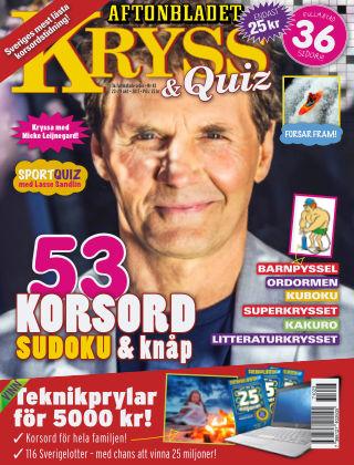 Kryss & Quiz (Inga nya utgåvor) 2017-10-23