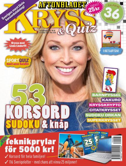 Kryss & Quiz (Inga nya utgåvor) November 13, 2017 00:00
