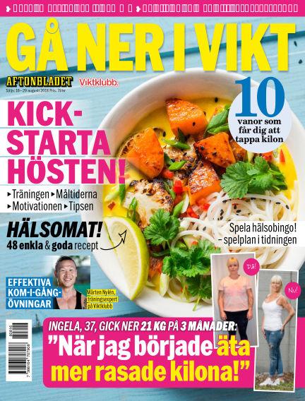Aftonbladet Viktklubb August 16, 2018 00:00